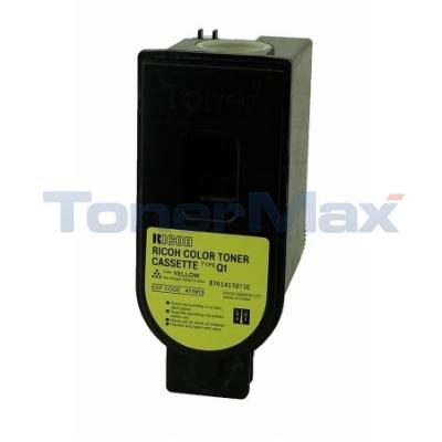 RICOH TYPE Q1 TONER YELLOW